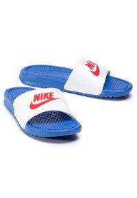 Białe klapki Nike