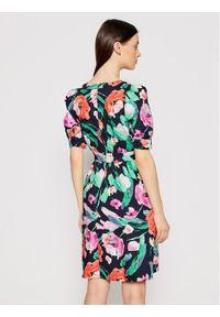 DKNY Sukienka letnia DD1A3364 Kolorowy Regular Fit. Okazja: na co dzień. Wzór: kolorowy. Sezon: lato. Typ sukienki: proste. Styl: casual