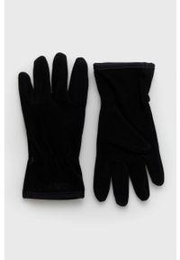 CMP - Rękawiczki. Kolor: czarny. Materiał: dzianina, materiał