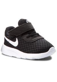 Czarne półbuty Nike na rzepy, z cholewką, na spacer