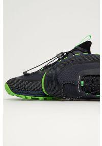 Czarne buty trekkingowe CMP na sznurówki, z cholewką