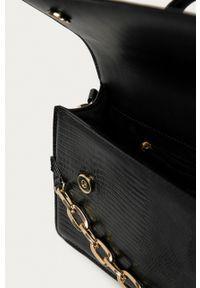 Aldo - Torebka Buria. Kolor: czarny. Rodzaj torebki: na ramię