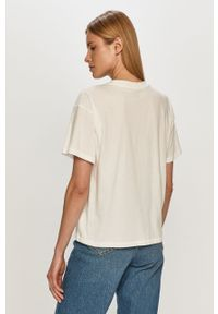 Biała bluzka GAP casualowa, na co dzień