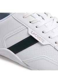 Lacoste Sneakersy Hapona 0721 1 Cma 7-41CMA00431R5 Biały. Kolor: biały
