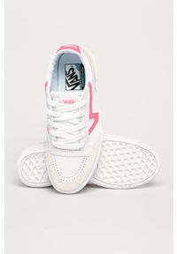 Vans - Buty. Nosek buta: okrągły. Zapięcie: sznurówki. Kolor: biały. Materiał: guma