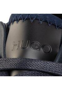Niebieskie półbuty Hugo