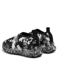 Bibi - Sneakersy BIBI - Roller Celebration 1079080 Print/Camouflaged. Kolor: szary. Materiał: materiał. Wzór: nadruk