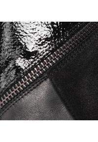 Hispanitas - Botki HISPANITAS - Amelia-5 HI99141 Black. Kolor: czarny. Materiał: skóra, lakier, zamsz. Szerokość cholewki: normalna. Wzór: aplikacja. Obcas: na obcasie. Wysokość obcasa: średni