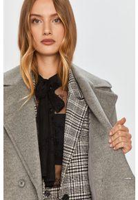 Szary płaszcz MAX&Co. bez kaptura, klasyczny #6