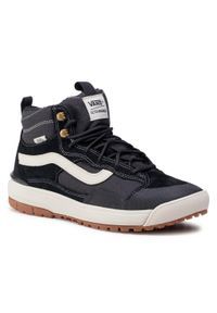 Vans - Sneakersy VANS - Ultrarange Exo Hi VN0A4UWJDW51 (Mte) Black. Kolor: czarny. Materiał: zamsz, skóra, materiał. Szerokość cholewki: normalna
