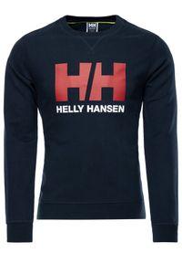 Helly Hansen Bluza Hh Logo Crew 34000 Granatowy Regular Fit. Kolor: niebieski