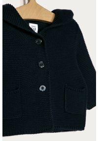 Niebieski sweter GAP na co dzień, z kapturem, casualowy