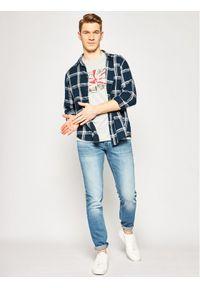 Pepe Jeans T-Shirt PM505671 Szary Regular Fit. Kolor: szary