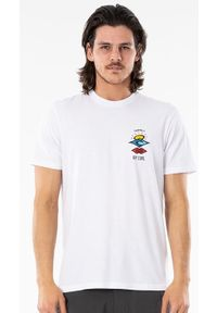 RIPCURL Koszulka męska SEARCH ESSENTIAL White
