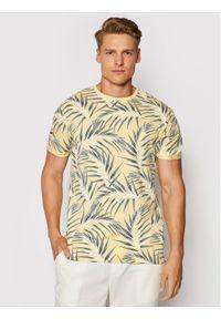 Only & Sons T-Shirt Iason 22016762 Żółty Slim Fit. Kolor: żółty
