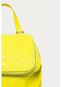 Desigual - Plecak. Kolor: żółty