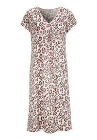Biała piżama Cellbes krótka, z motywem zwierzęcym