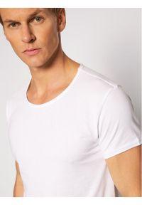 Tigha T-Shirt Wren 100879 Biały Regular Fit. Kolor: biały