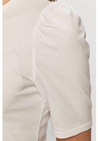 Biała bluzka only na co dzień, casualowa