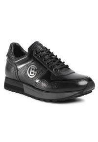 Czarne sneakersy Baldinini z cholewką