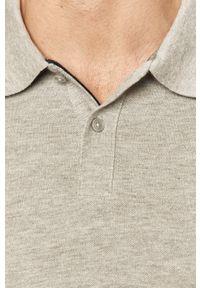 Szara koszulka polo s.Oliver casualowa, polo, krótka, na co dzień