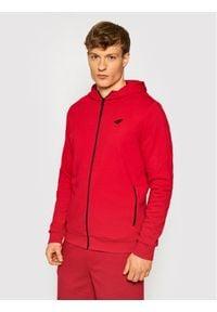 4f - 4F Bluza H4L21-BLM013 Czerwony Regular Fit. Kolor: czerwony