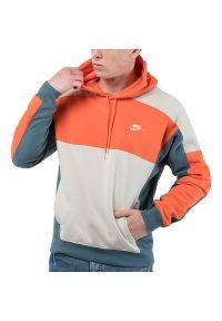 Nike Sportswear Colorblock Hoodie > CU4381-837. Materiał: polar, poliester, bawełna