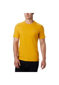 Żółta koszulka sportowa columbia