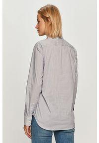 Niebieska koszula Stefanel klasyczna, z długim rękawem, na co dzień, długa