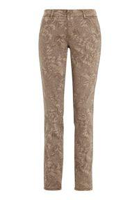 Cream Spodnie we wzory Cindy Sand we wzory female beżowy/żółty/ze wzorem W33. Kolor: żółty, wielokolorowy, beżowy