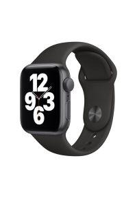 Czarny zegarek APPLE smartwatch, sportowy