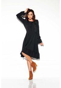 Czarna sukienka Lemoniade boho