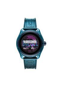 Niebieski zegarek Diesel smartwatch