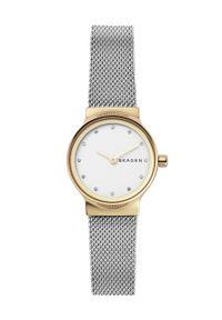 Skagen - Zegarek SKW2666. Kolor: srebrny. Materiał: materiał