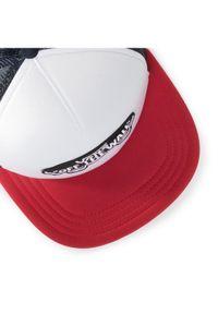 Biała czapka z daszkiem Vans