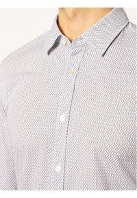 BOSS - Boss Koszula Ronni 50427952 Biały Slim Fit. Kolor: biały