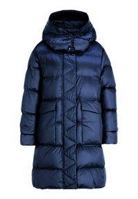 Niebieska kurtka puchowa Sportmax Code