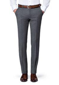 Szare spodnie Lancerto sportowe, na zimę