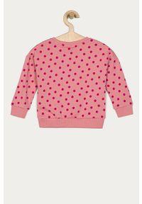 Różowa bluza Name it bez kaptura