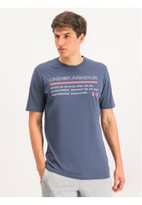 Under Armour T-Shirt UA Issued 1344235 Szary Loose Fit. Kolor: szary
