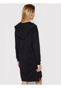 Czarna sukienka dzianinowa Armani Exchange