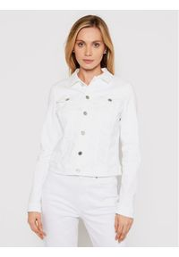 Biała kurtka jeansowa Tommy Jeans