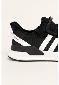 Czarne sneakersy adidas Originals do biegania, z cholewką