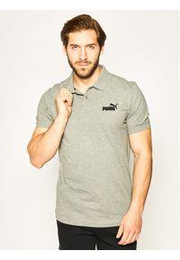 Szara koszulka polo Puma polo