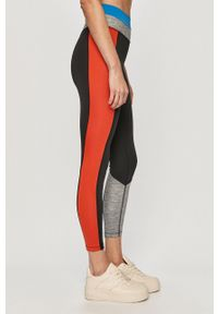 Nike - Legginsy. Materiał: tkanina, dzianina, skóra, włókno. Technologia: Dri-Fit (Nike)