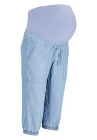 Dżinsy ciążowe rybaczki TENCEL™ Lyocell bonprix jasnoniebieski. Kolekcja: moda ciążowa. Kolor: niebieski. Sezon: lato