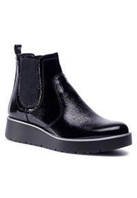 Czarne botki Igi & Co