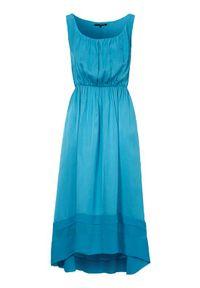 Amy's Stories Sukienka Lucetta Morski female niebieski S (34/36). Kolor: niebieski. Materiał: wiskoza. Styl: elegancki