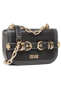 Versace Jeans Couture Torebka E1VZBBN2 Czarny. Kolor: czarny