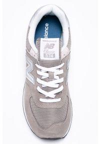New Balance - Buty ML574EGG. Zapięcie: sznurówki. Kolor: szary. Szerokość cholewki: normalna. Model: New Balance 574